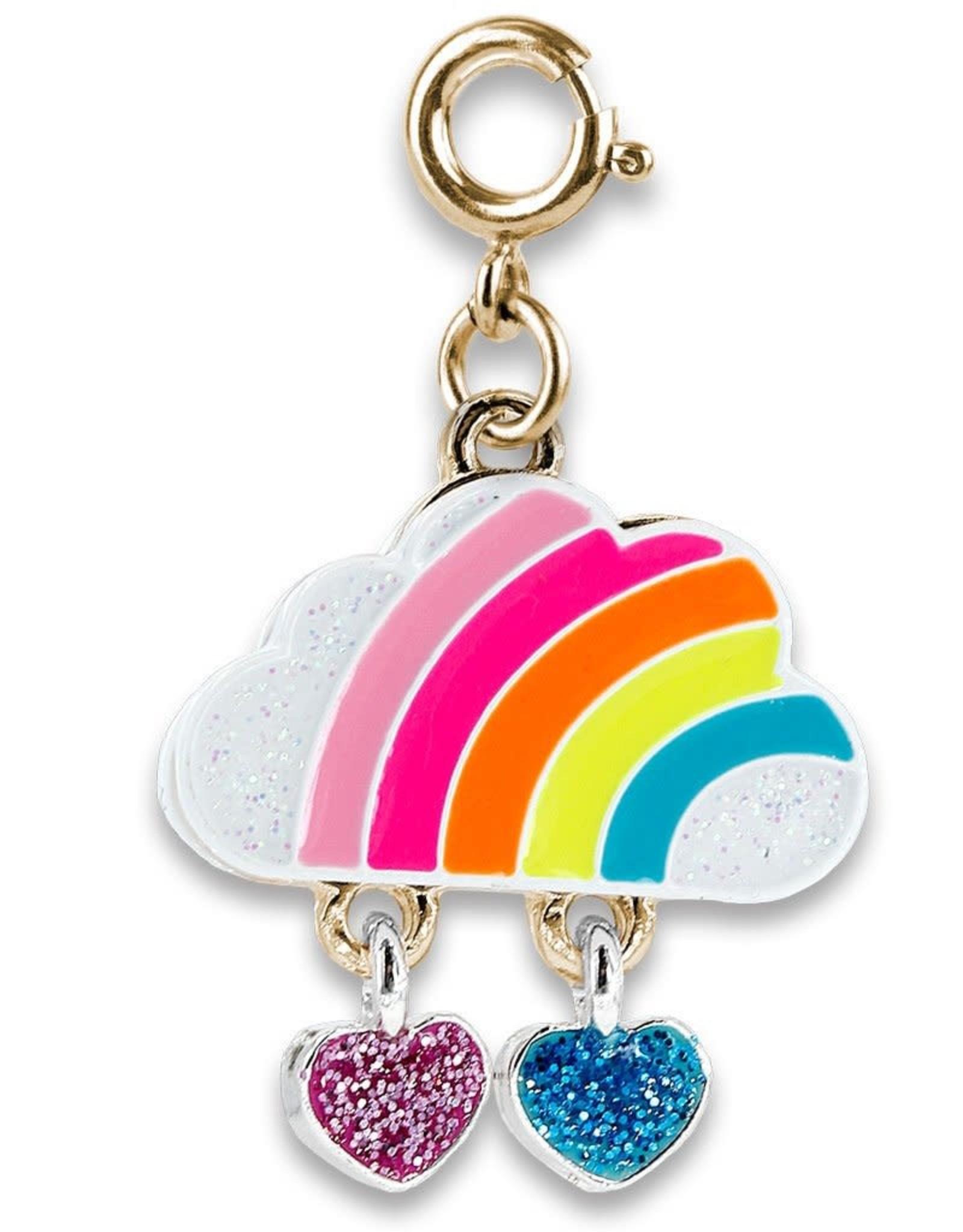 Charm It! Charm It! Gold Rainbow Cloud Charm