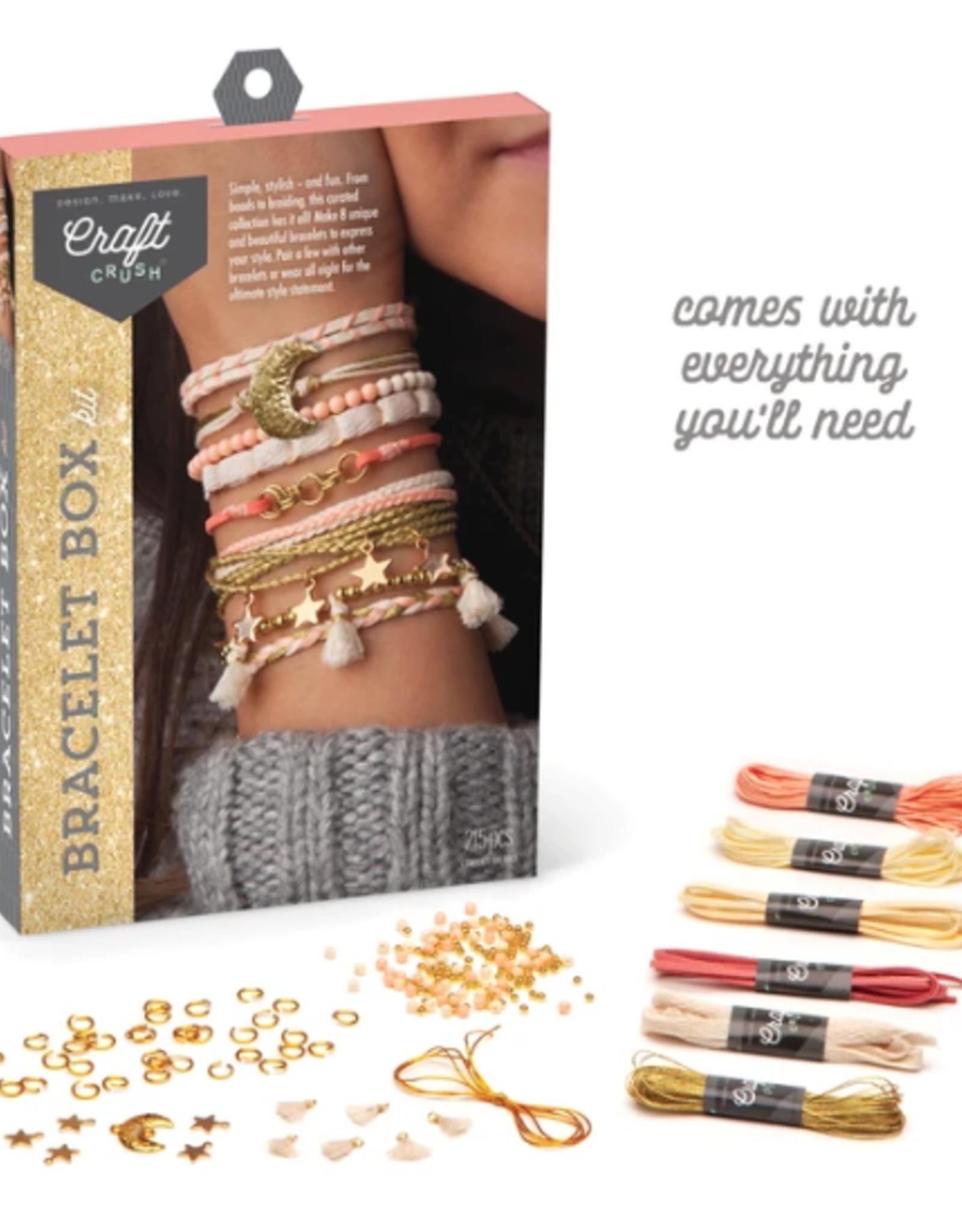 Ann Williams Craft Crush Bracelet Box - Gold