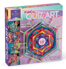 Ann Williams Craft-tastic All About Me Quiz Art