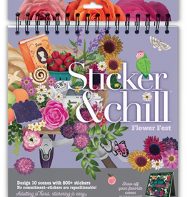 Ann Williams Sticker & Chill Flower Fest