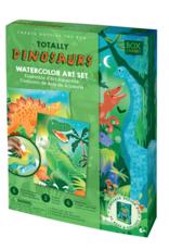 Handstand Kitchen Totally Dinosaurs Watercolor Art Set
