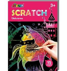 Dam Toys Scratch Mini Book / Unicorn