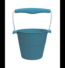 Dam Toys Scrunch Bucket Blue