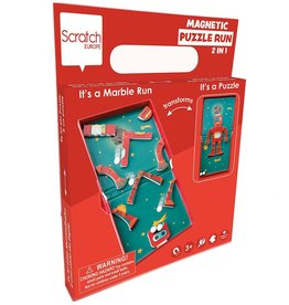 Dam Toys Magnetic Puzzle Run Robot in Space