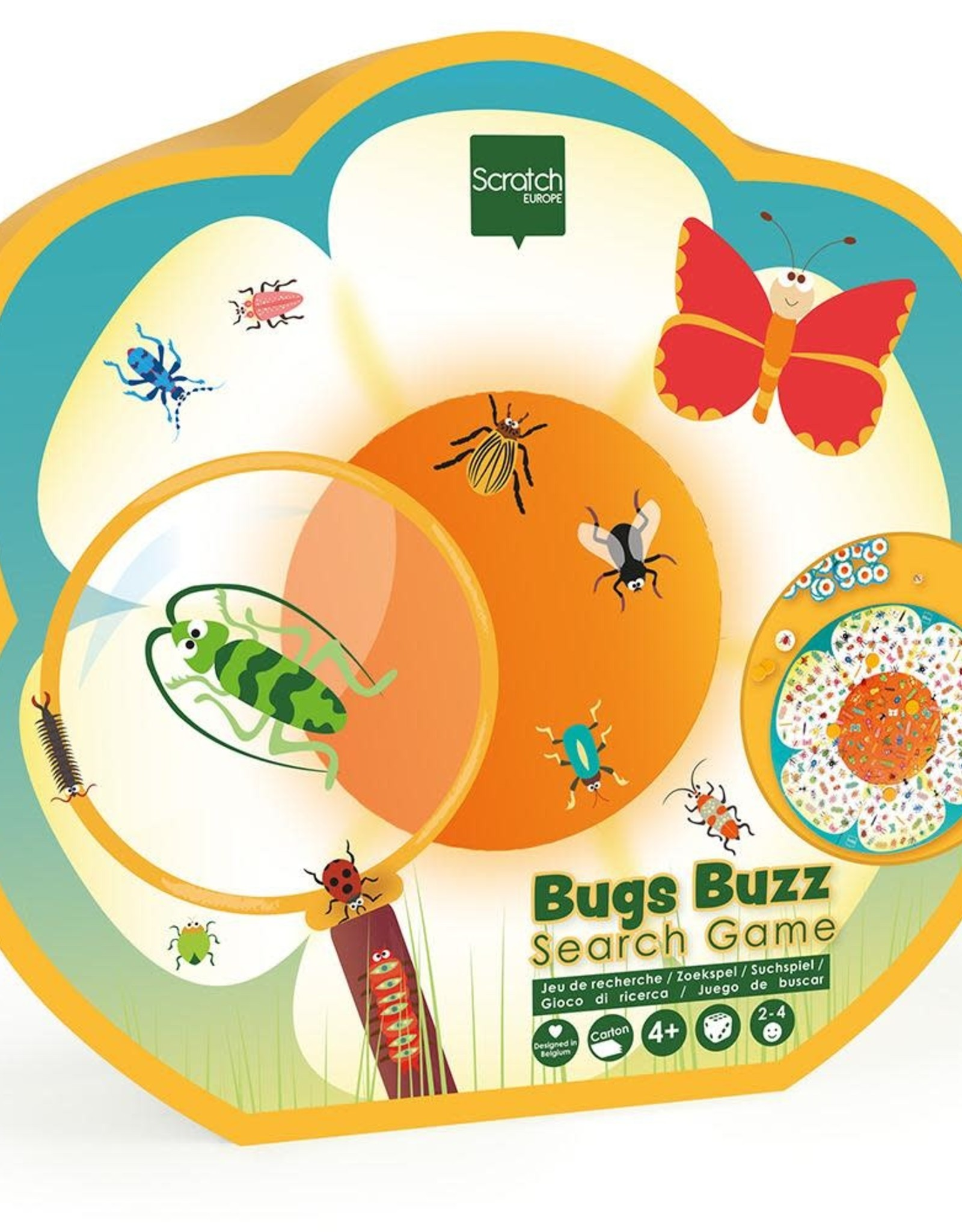 Dam Toys Bugs Buzz Search Game