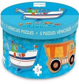 Dam Toys Starter Puzzle Vehicles