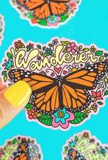 Turtle Soup Turtle Soup - Butterfly Wanderer Vinyl Sticker