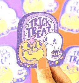 Turtle Soup Turtle Soup Trick or Treat Pumpkin & Ghost Vinyl Sticker