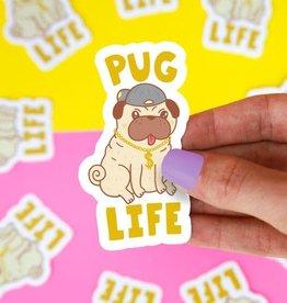 Turtle Soup Turtle Soup - Pug Life Vinyl Sticker