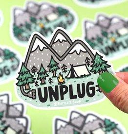 Turtle Soup Turtle Soup - Unplug In Nature Vinyl Sticker