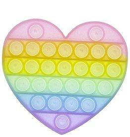 OMG Pop Fidgety Glitter Heart