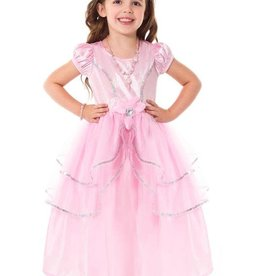 Little Adventures Royal Pink Princess Medium 3-5