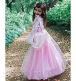Great Pretenders Pink Rose Princess Dress size 5-6