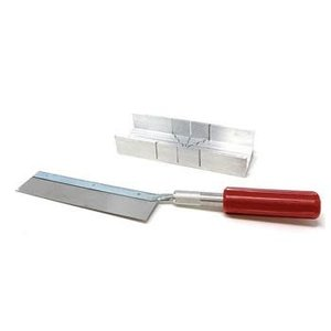 Mitre Box with Handle & Blades