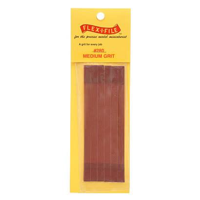 FLEX-I-FILE 280 GRIT REFILL TAPES (6)