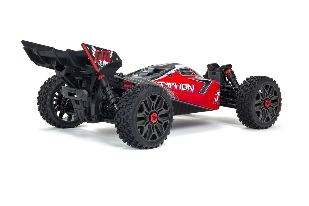 TYPHON 4X4 3S BLX Brushless 1/8th 4wd Buggy Red