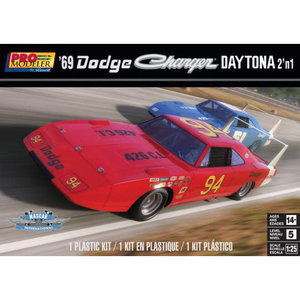 1/25 1969 Dodge Charger Daytona (2 in 1)