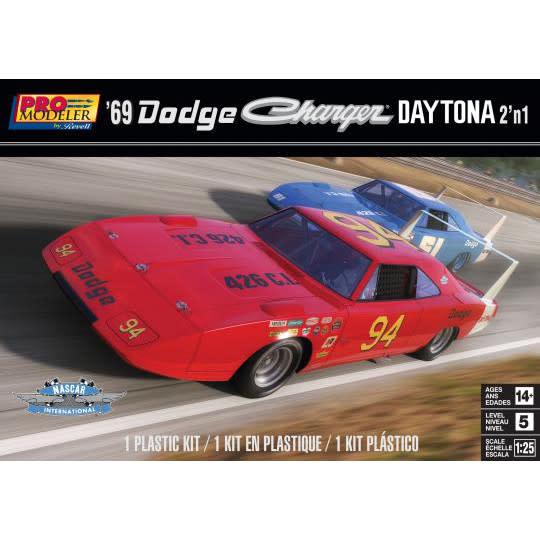 Revell 1/25 1969 Dodge Charger Daytona (2 in 1)