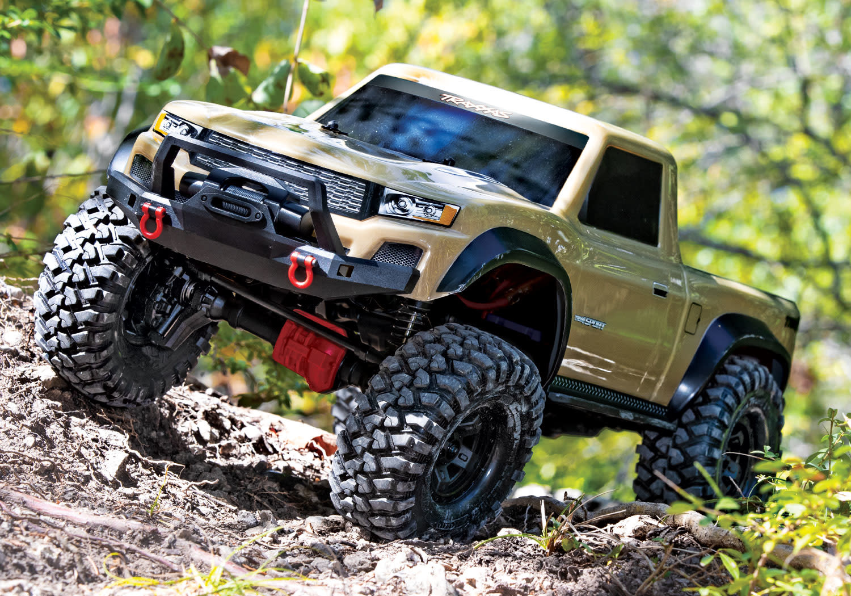 1/10 TRX-4 SPORT rock crawler , TAN