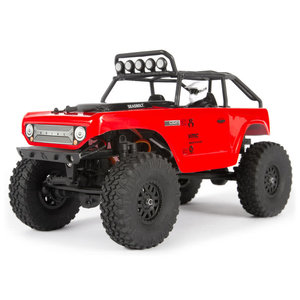SCX24 Deadbolt 1/24th Scale Elec 4WD - RTR, Red