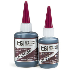 Ic-2000 Black Rubber-Toughened CA Glue 1oz
