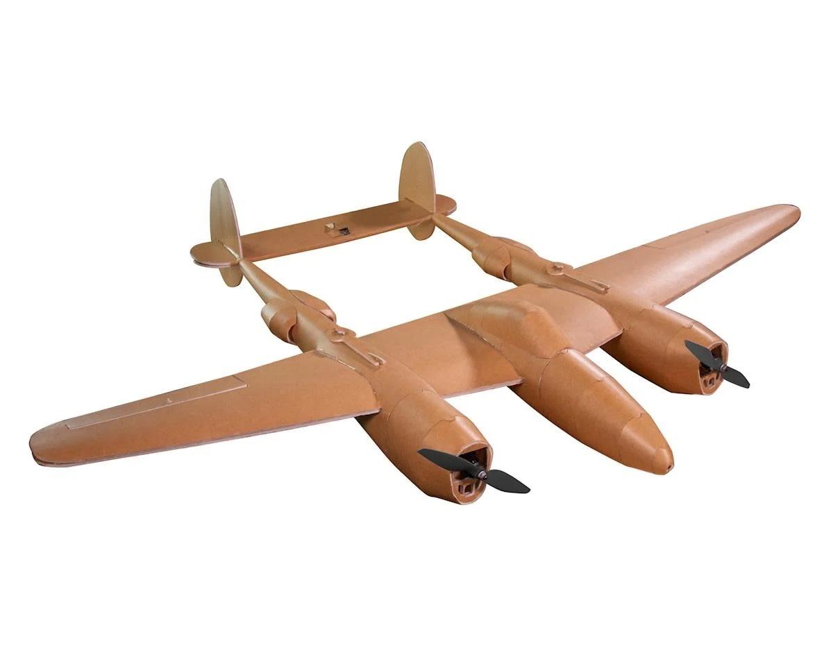 Flite Test Flite Test Master Series P-38 Electric Airplane Kit (1460mm)
