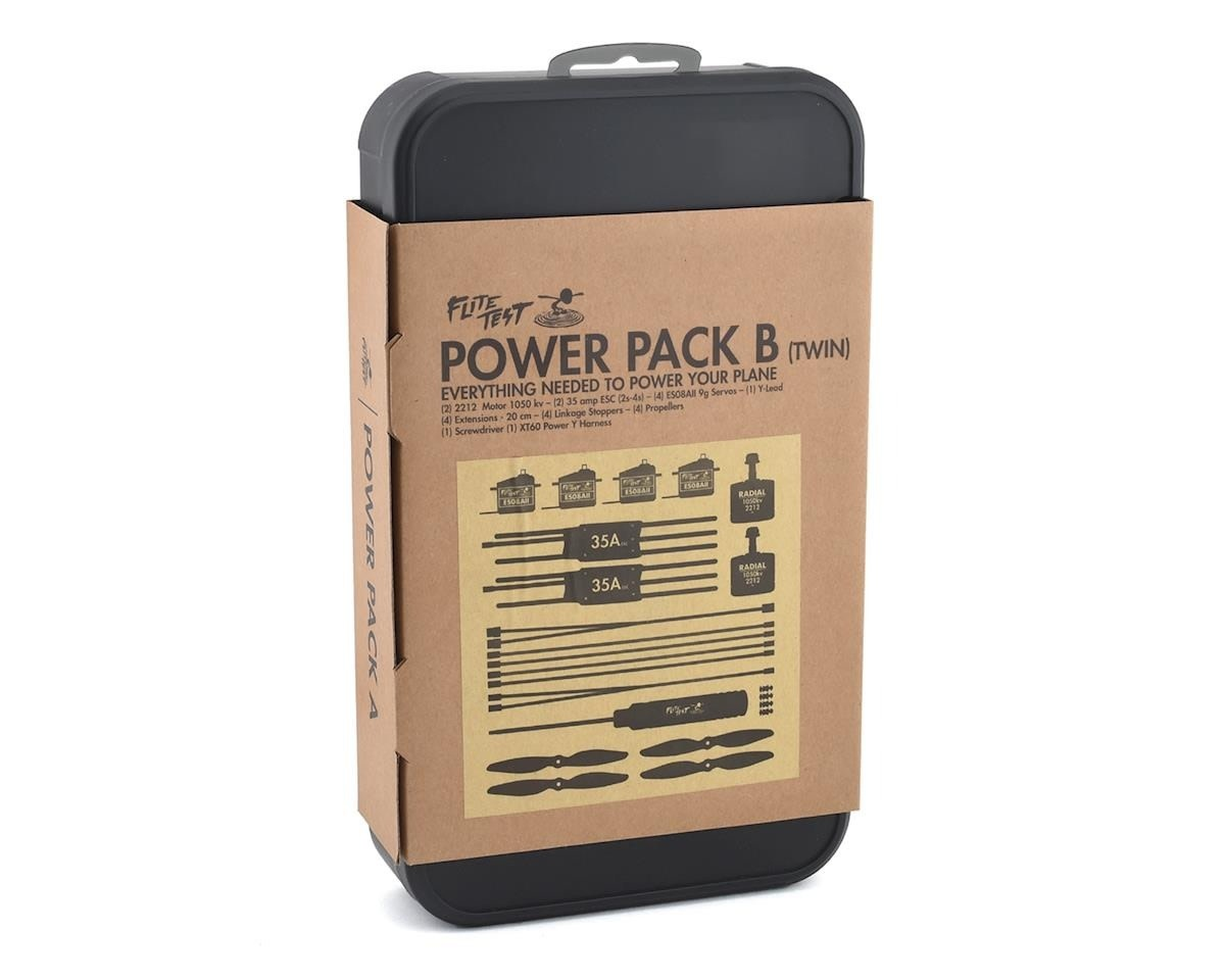 """Flite Test Flite Test Power Pack B Twin - """"Radial Edition"""""""