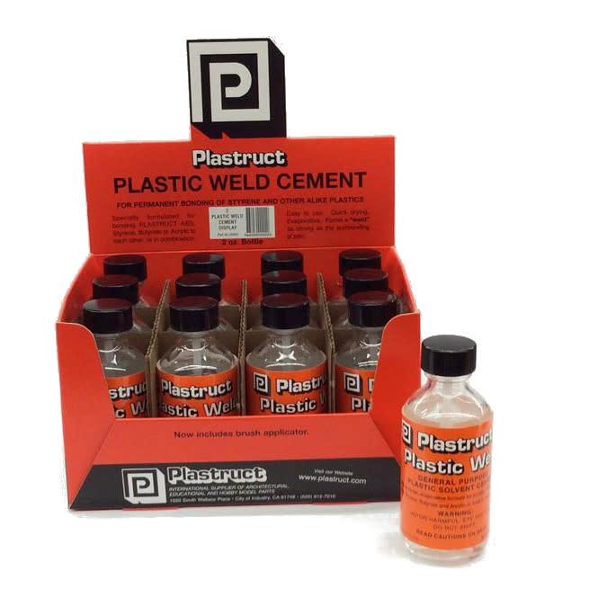 Plastruct PLASTIC WELD CEMENT single 2oz bottle