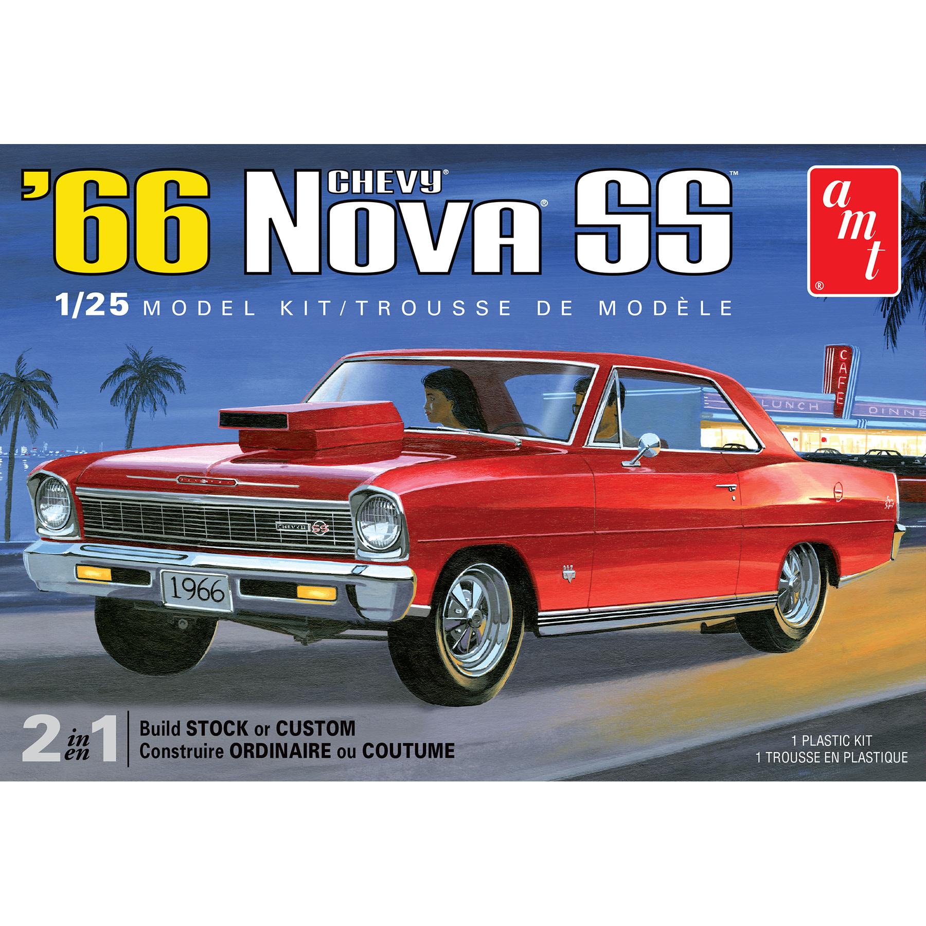 1:25 Chevy Nova SS (2 in 1)