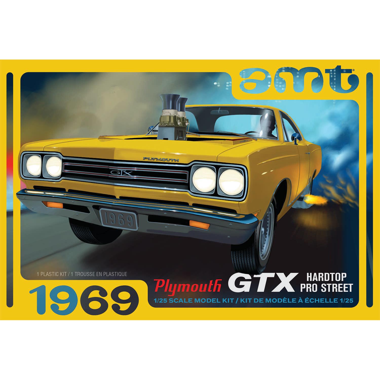 1/25 1969 Plymouth GTX Hardtop Pro Street