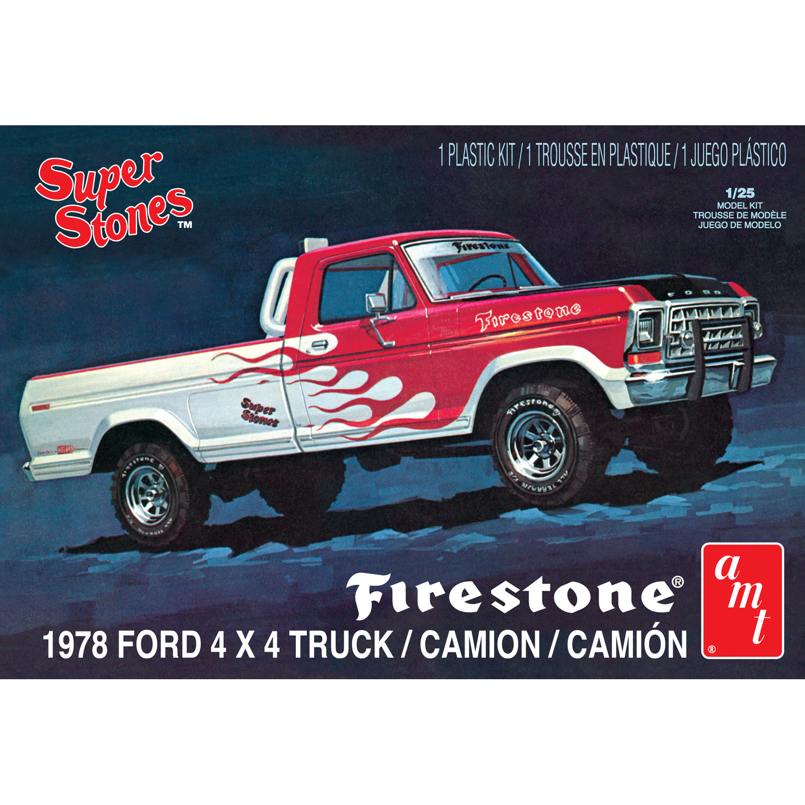 1/25 78 FORD 4X4