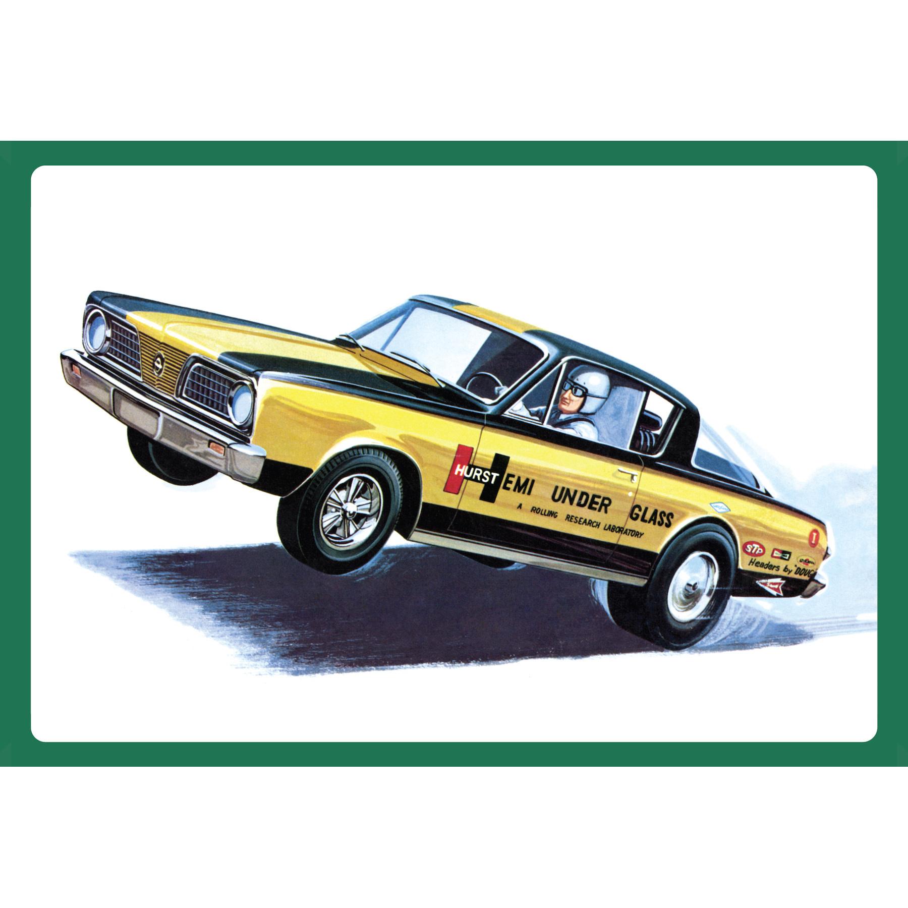 1:25 Plymouth Barracuda '66