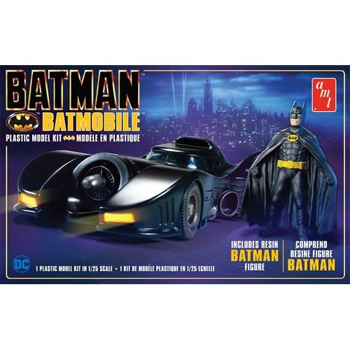 1/25 1989 Batmobile w/Resin Batman Figure