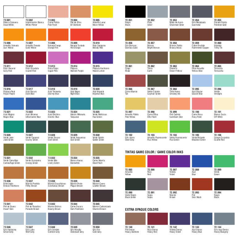 VLJ Vallejo Game Color