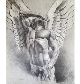 VICTOR GADINO ANGEL IN ECSTASY PRINT