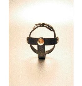 IGNITE LEATHER 3-PC DIVIDER COCK RING