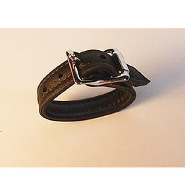 LEATHER COCKSTRAP WITH BUCKLE