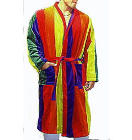 RAINBOW TERRY CLOTH ROBE