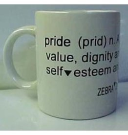 PRIDE DEFINITION COFFEE MUG