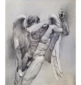 VICTOR GADINO VICTOR GADINO CRYING ANGEL PRINT