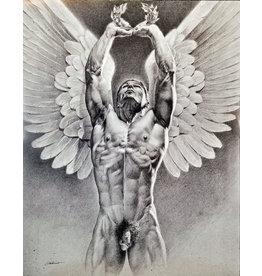VICTOR GADINO VICTOR GADINO VICTORIOUS ANGEL PRINT