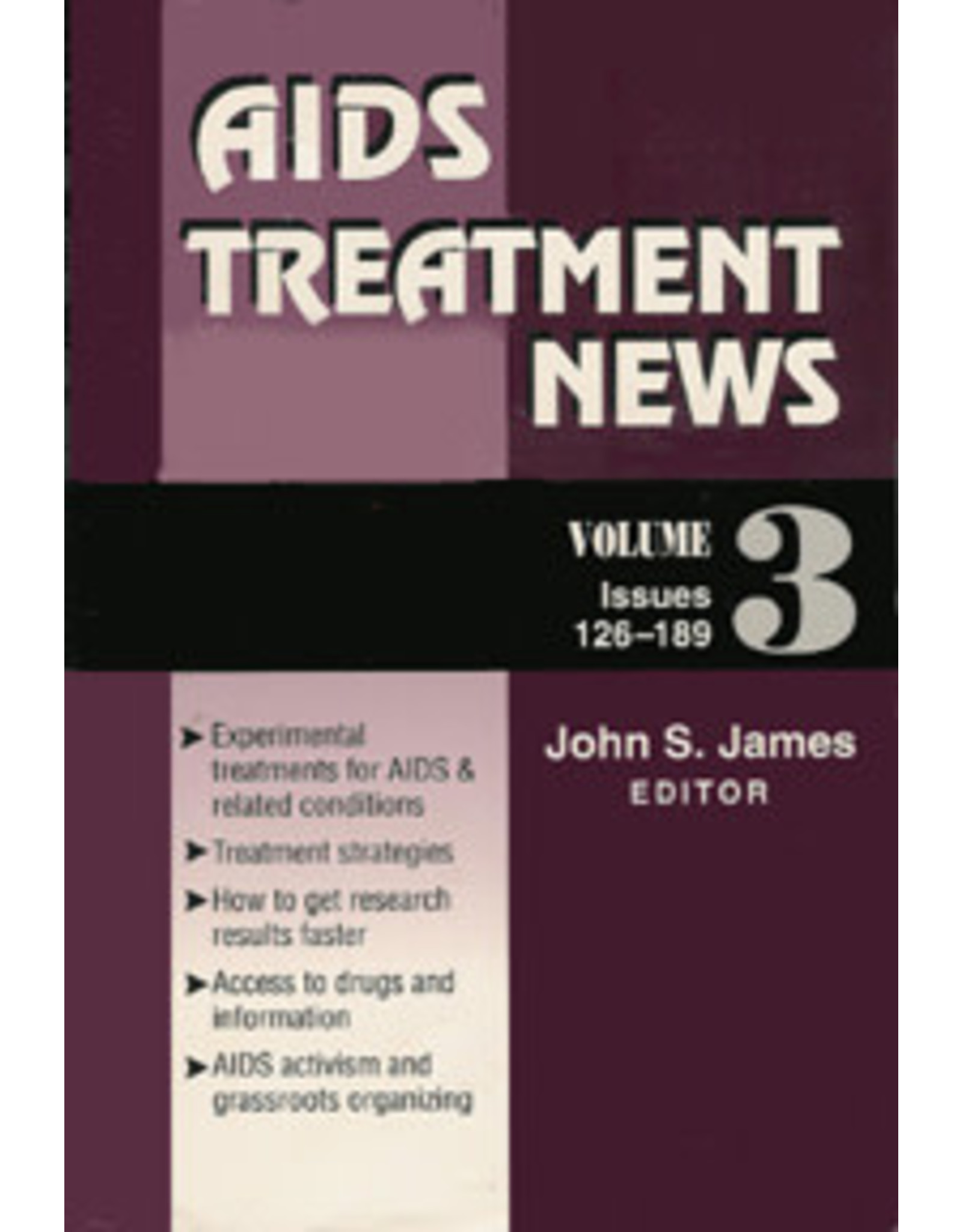 AIDS TREATMENT NEWS- VOL 3