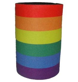 RAINBOW CAN KOOZIE