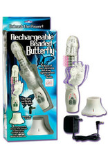 ZEBRAZ REACHARGEABLE BEADED BUTTERFLY VIBE
