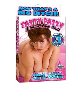 PIPEDREAM FATTY PATTY JUMBO INFLATEABLE LOVE DOLL