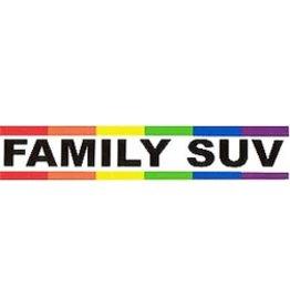 RAINBOW FAMILY S U V STICKER