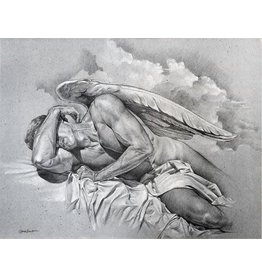 VICTOR GADINO SLEEPING ANGEL PRINT