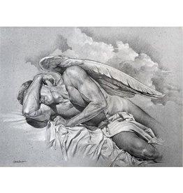 VICTOR GADINO VICTOR GADINO SLEEPING ANGEL PRINT