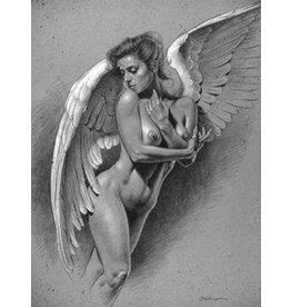 VICTOR GADINO VICTOR GADINO GODDESS ANGEL PRINT