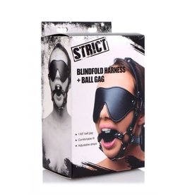 STRICT HEAD HARNESS, STRICT, BLINDFOLD/GAG